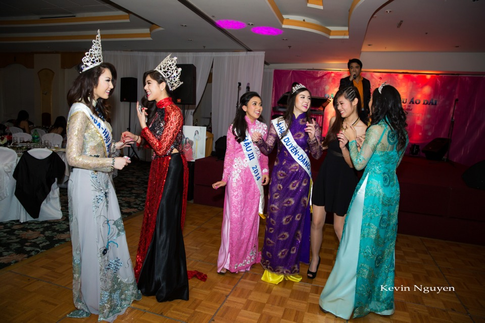 Coronation of Miss Vietnam of Northern California 2014 and Court - Image 096