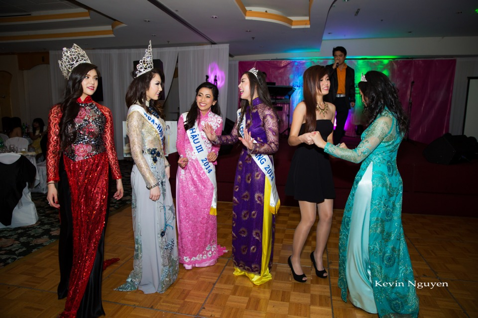 Coronation of Miss Vietnam of Northern California 2014 and Court - Image 097