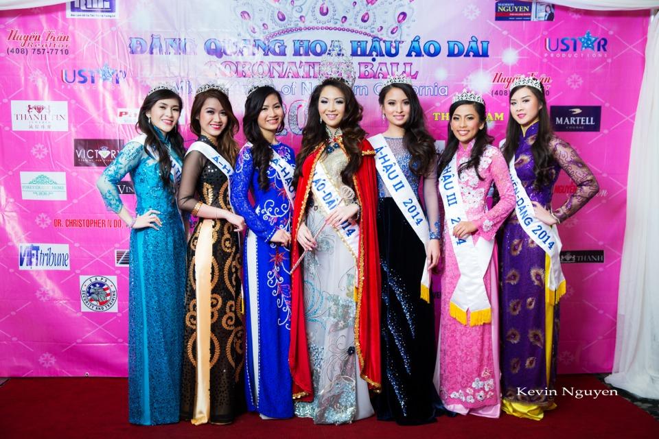 The Guests at the Coronation of Hoa Hau Ao Dai Bac Cali 2014 and Court - Image 002