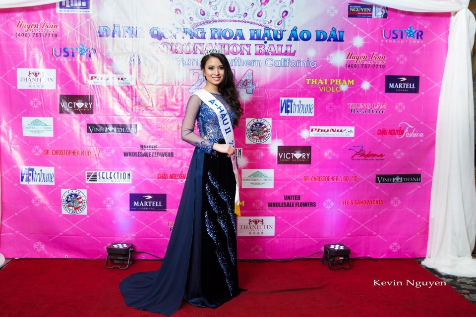 The Guests at the Coronation of Hoa Hau Ao Dai Bac Cali 2014 and Court - Image 004