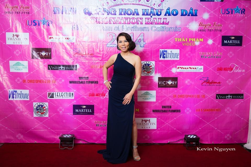 The Guests at the Coronation of Hoa Hau Ao Dai Bac Cali 2014 and Court - Image 009