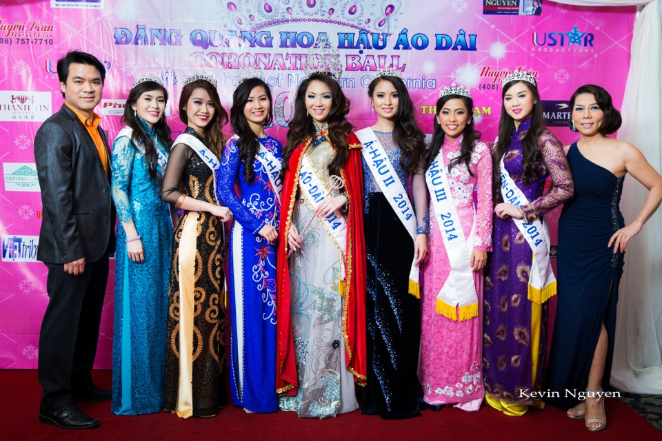 The Guests at the Coronation of Hoa Hau Ao Dai Bac Cali 2014 and Court - Image 015