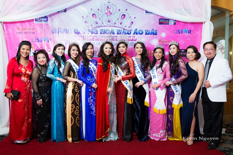 The Guests at the Coronation of Hoa Hau Ao Dai Bac Cali 2014 and Court - Image 016