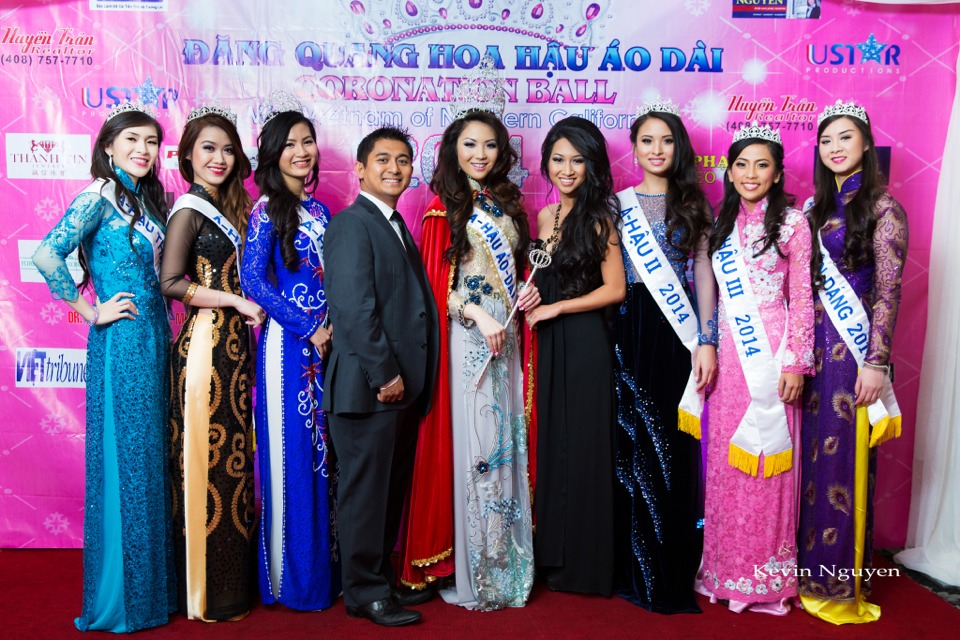 The Guests at the Coronation of Hoa Hau Ao Dai Bac Cali 2014 and Court - Image 019