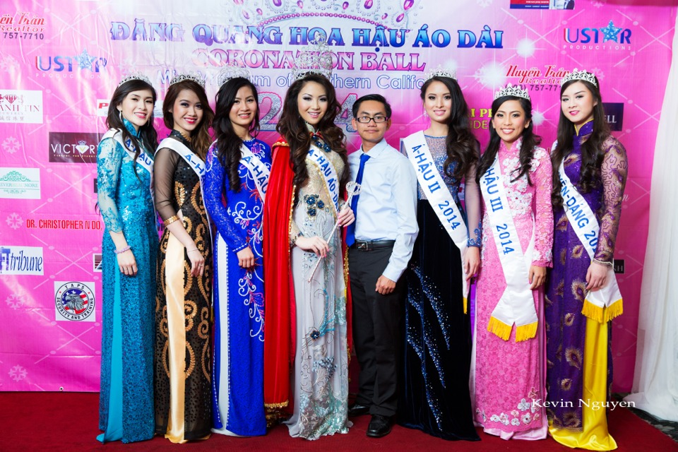 The Guests at the Coronation of Hoa Hau Ao Dai Bac Cali 2014 and Court - Image 020