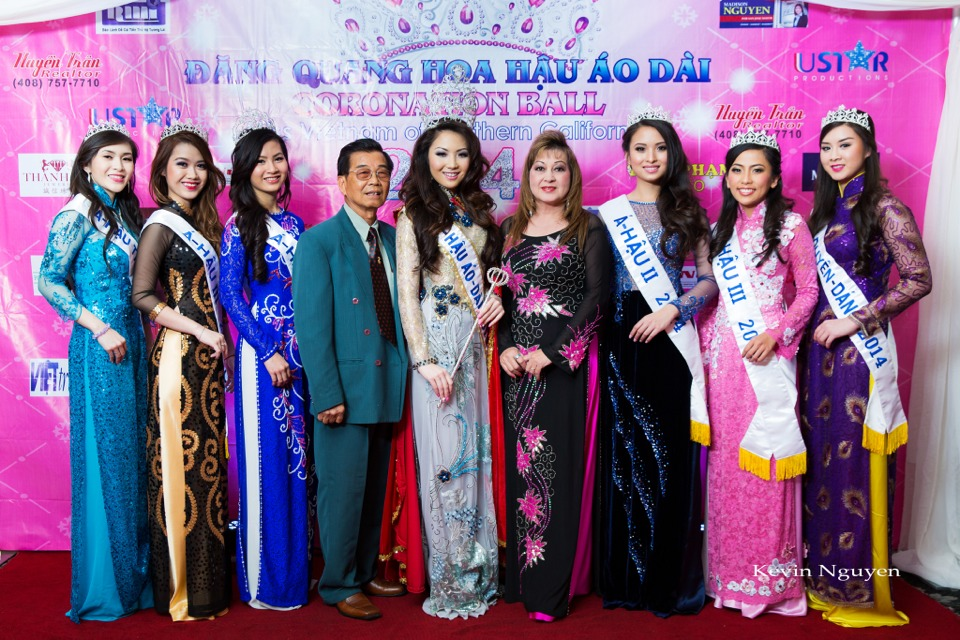 The Guests at the Coronation of Hoa Hau Ao Dai Bac Cali 2014 and Court - Image 023