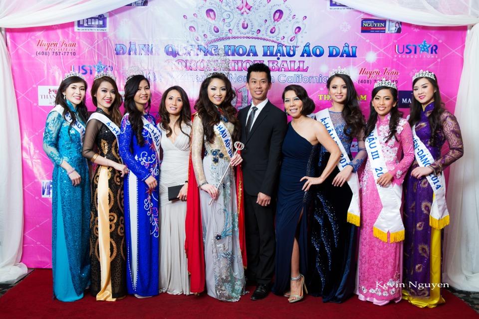 The Guests at the Coronation of Hoa Hau Ao Dai Bac Cali 2014 and Court - Image 024