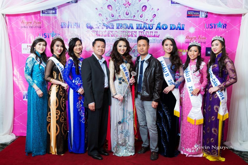 The Guests at the Coronation of Hoa Hau Ao Dai Bac Cali 2014 and Court - Image 025