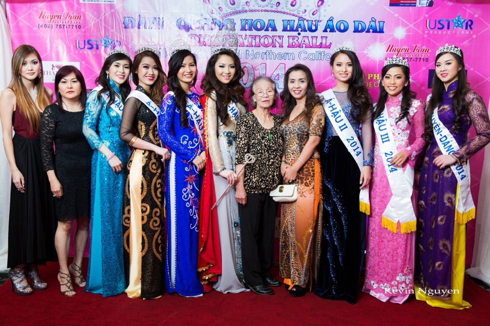 The Guests at the Coronation of Hoa Hau Ao Dai Bac Cali 2014 and Court - Image 027