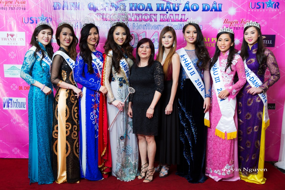 The Guests at the Coronation of Hoa Hau Ao Dai Bac Cali 2014 and Court - Image 029