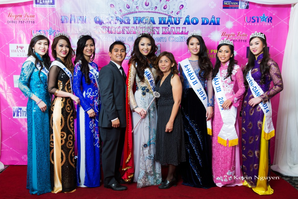 The Guests at the Coronation of Hoa Hau Ao Dai Bac Cali 2014 and Court - Image 031