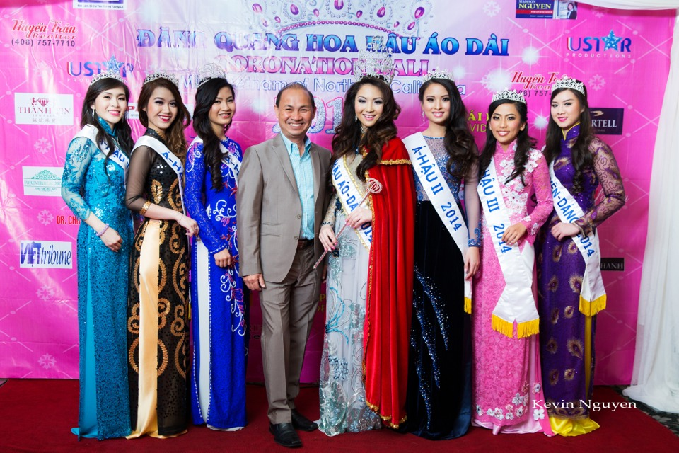 The Guests at the Coronation of Hoa Hau Ao Dai Bac Cali 2014 and Court - Image 032