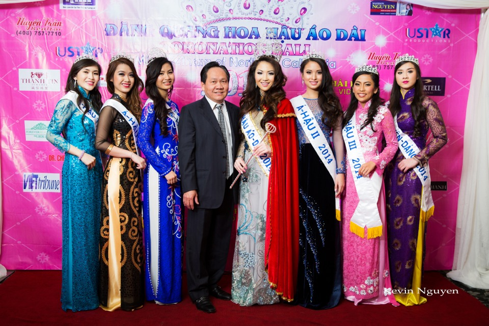 The Guests at the Coronation of Hoa Hau Ao Dai Bac Cali 2014 and Court - Image 033