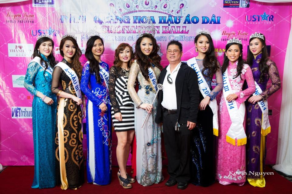 The Guests at the Coronation of Hoa Hau Ao Dai Bac Cali 2014 and Court - Image 038