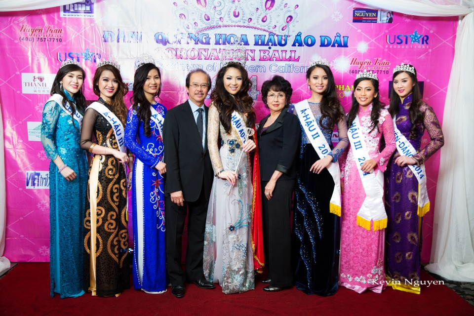 The Guests at the Coronation of Hoa Hau Ao Dai Bac Cali 2014 and Court - Image 041