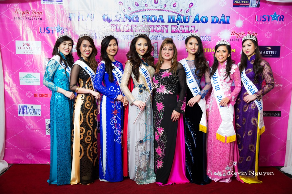 The Guests at the Coronation of Hoa Hau Ao Dai Bac Cali 2014 and Court - Image 043