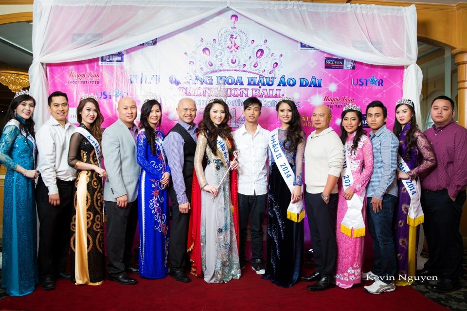The Guests at the Coronation of Hoa Hau Ao Dai Bac Cali 2014 and Court - Image 044