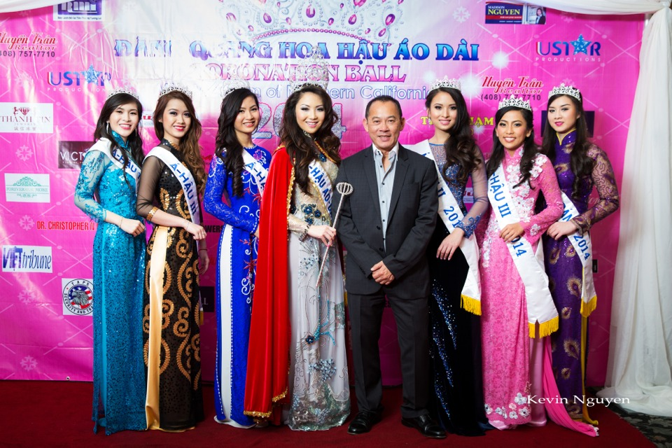 The Guests at the Coronation of Hoa Hau Ao Dai Bac Cali 2014 and Court - Image 050