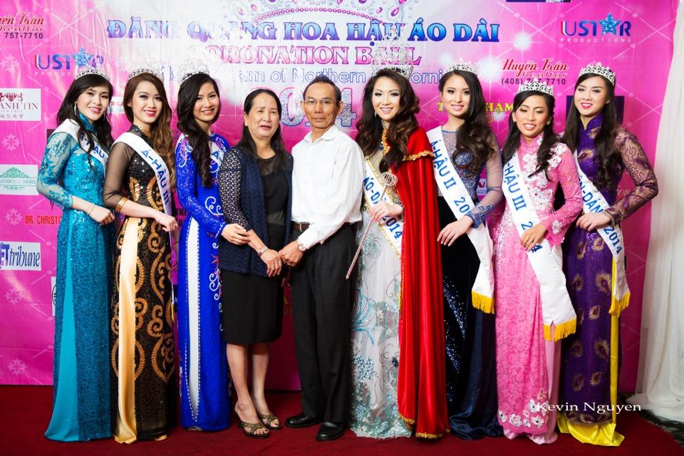 The Guests at the Coronation of Hoa Hau Ao Dai Bac Cali 2014 and Court - Image 058