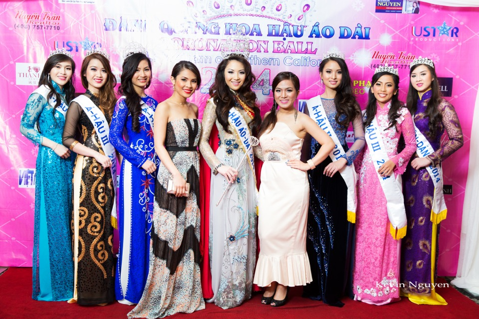 The Guests at the Coronation of Hoa Hau Ao Dai Bac Cali 2014 and Court - Image 065