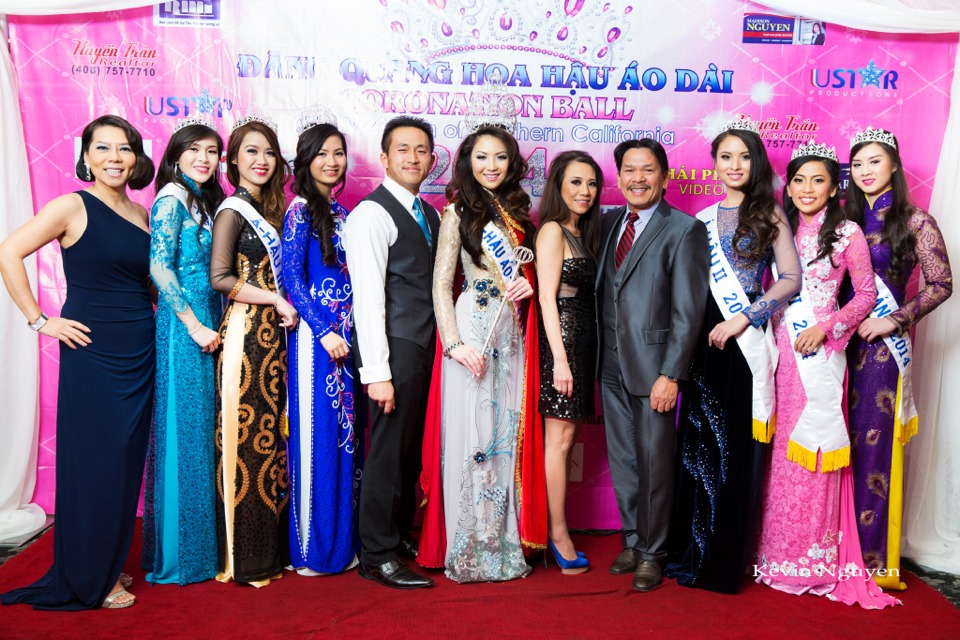 The Guests at the Coronation of Hoa Hau Ao Dai Bac Cali 2014 and Court - Image 067