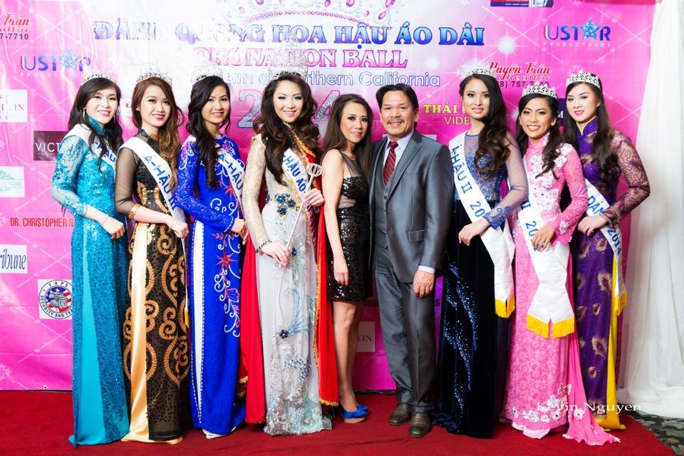 The Guests at the Coronation of Hoa Hau Ao Dai Bac Cali 2014 and Court - Image 068