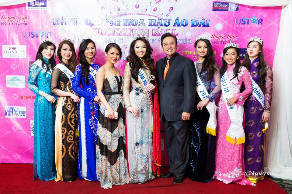 The Guests at the Coronation of Hoa Hau Ao Dai Bac Cali 2014 and Court - Image 072