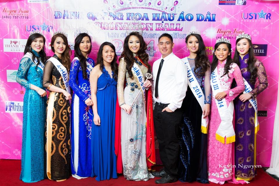 The Guests at the Coronation of Hoa Hau Ao Dai Bac Cali 2014 and Court - Image 074