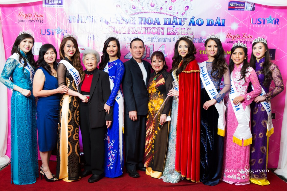 The Guests at the Coronation of Hoa Hau Ao Dai Bac Cali 2014 and Court - Image 076