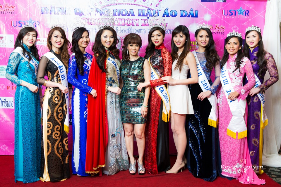 The Guests at the Coronation of Hoa Hau Ao Dai Bac Cali 2014 and Court - Image 083