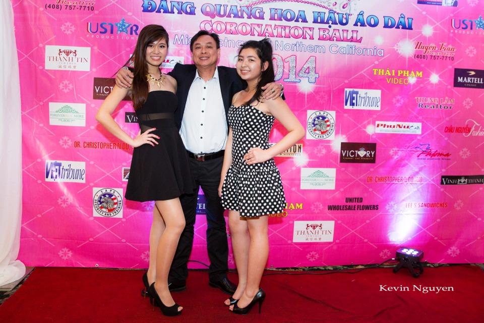 The Guests at the Coronation of Hoa Hau Ao Dai Bac Cali 2014 and Court - Image 090
