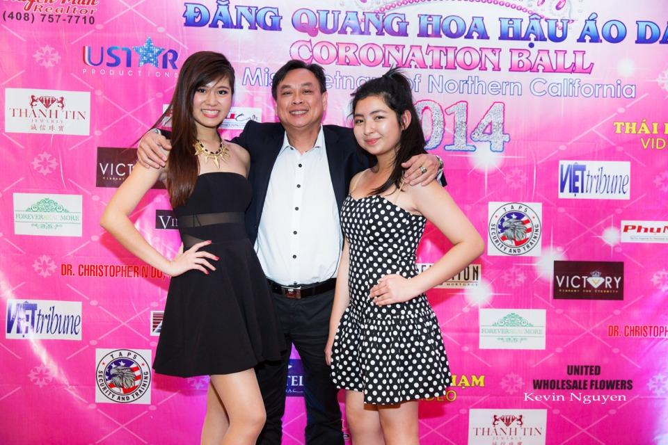 The Guests at the Coronation of Hoa Hau Ao Dai Bac Cali 2014 and Court - Image 091