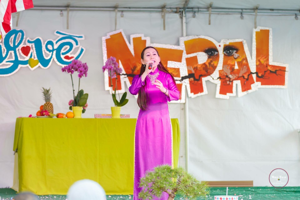 Outdoor Concert & Candlelight Vigil For Nepal Earthquake Relief 2015 - Image 014