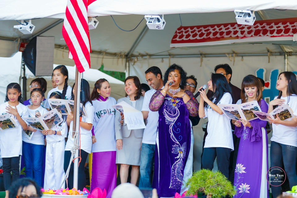 Outdoor Concert & Candlelight Vigil For Nepal Earthquake Relief 2015 - Image 045