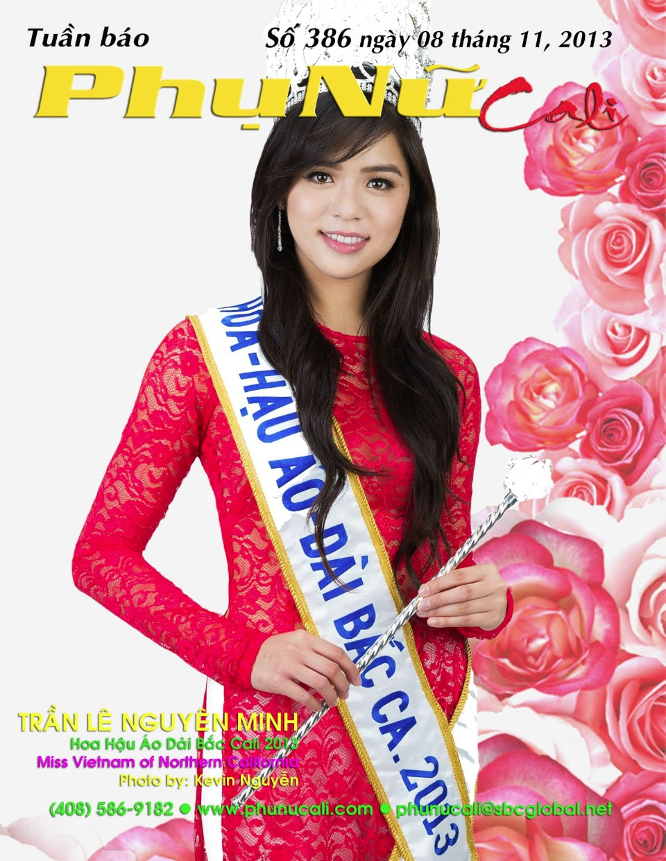 Phu Nu Magazine - Tran Le Nguyen Minh