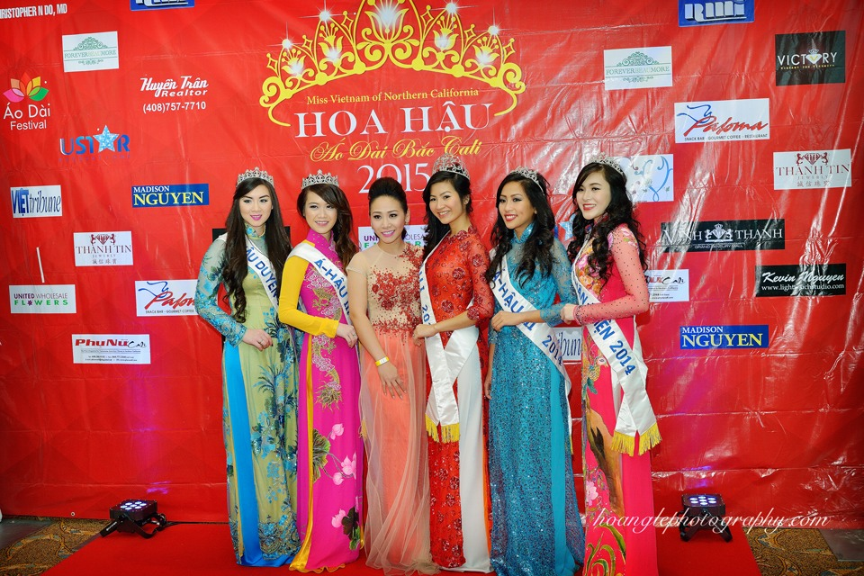 Hoa Hậu Áo Dài Bắc Cali 2015 - Pageant Day pictures by Hoang Le - Image 101