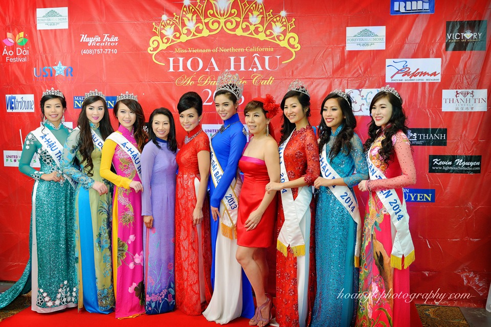 Hoa Hậu Áo Dài Bắc Cali 2015 - Pageant Day pictures by Hoang Le - Image 106