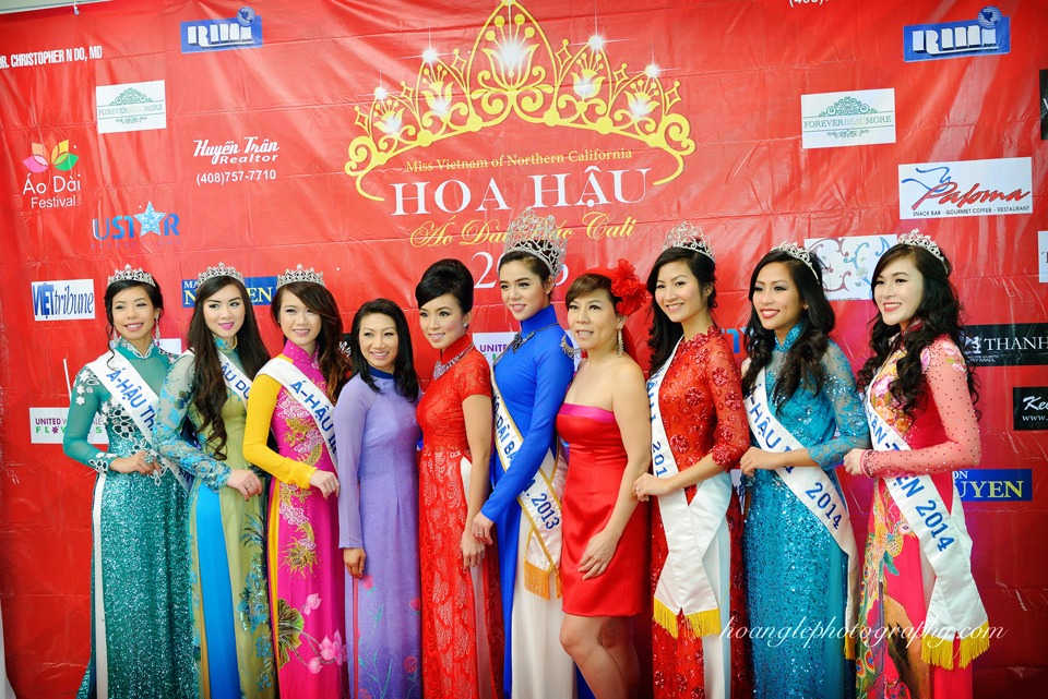 Hoa Hậu Áo Dài Bắc Cali 2015 - Pageant Day pictures by Hoang Le - Image 107