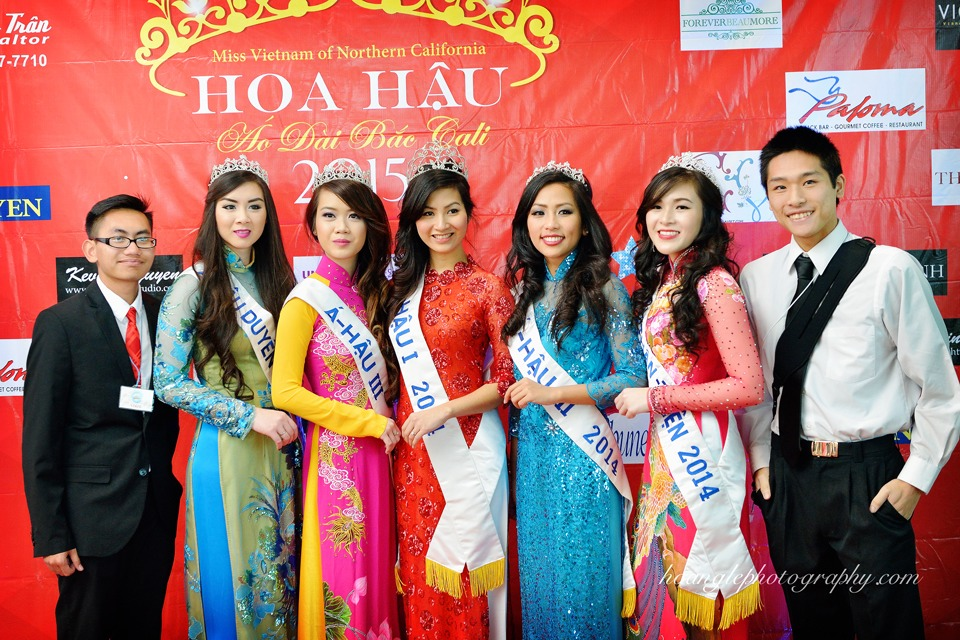 Hoa Hậu Áo Dài Bắc Cali 2015 - Pageant Day pictures by Hoang Le - Image 108
