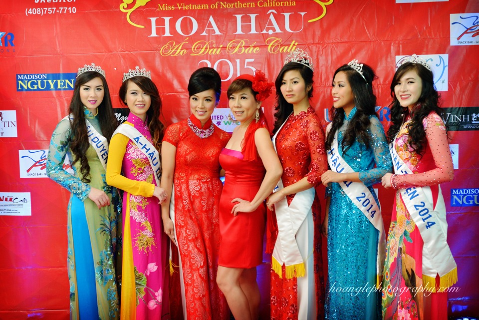 Hoa Hậu Áo Dài Bắc Cali 2015 - Pageant Day pictures by Hoang Le - Image 109