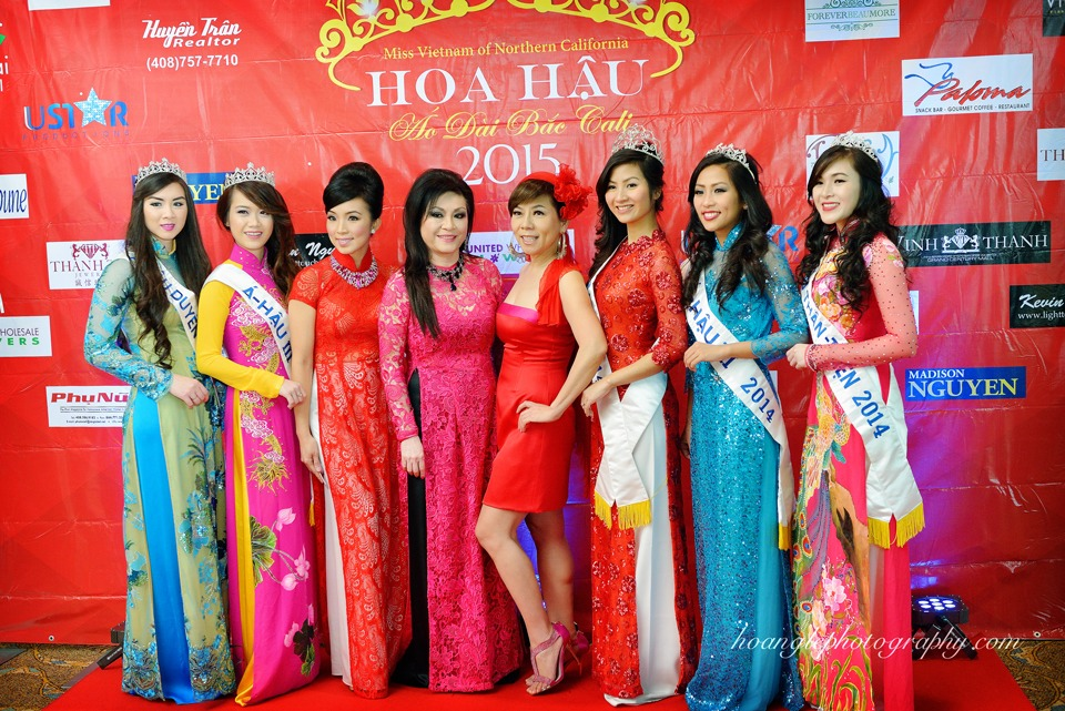 Hoa Hậu Áo Dài Bắc Cali 2015 - Pageant Day pictures by Hoang Le - Image 110
