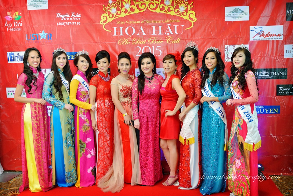 Hoa Hậu Áo Dài Bắc Cali 2015 - Pageant Day pictures by Hoang Le - Image 111