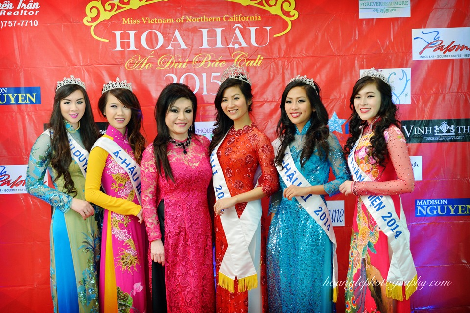 Hoa Hậu Áo Dài Bắc Cali 2015 - Pageant Day pictures by Hoang Le - Image 112