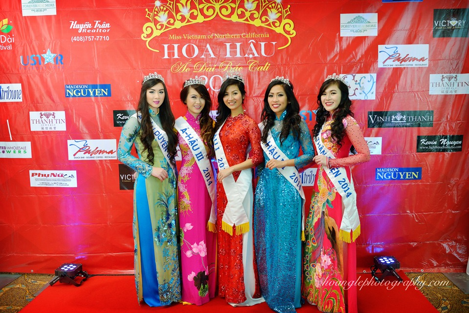 Hoa Hậu Áo Dài Bắc Cali 2015 - Pageant Day pictures by Hoang Le - Image 114