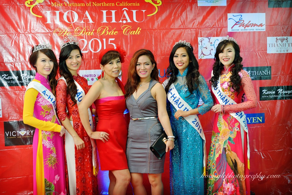 Hoa Hậu Áo Dài Bắc Cali 2015 - Pageant Day pictures by Hoang Le - Image 120