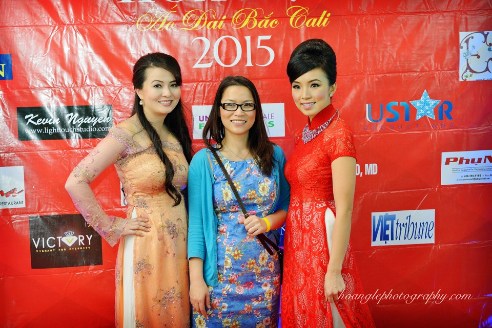 Hoa Hậu Áo Dài Bắc Cali 2015 - Pageant Day pictures by Hoang Le - Image 122