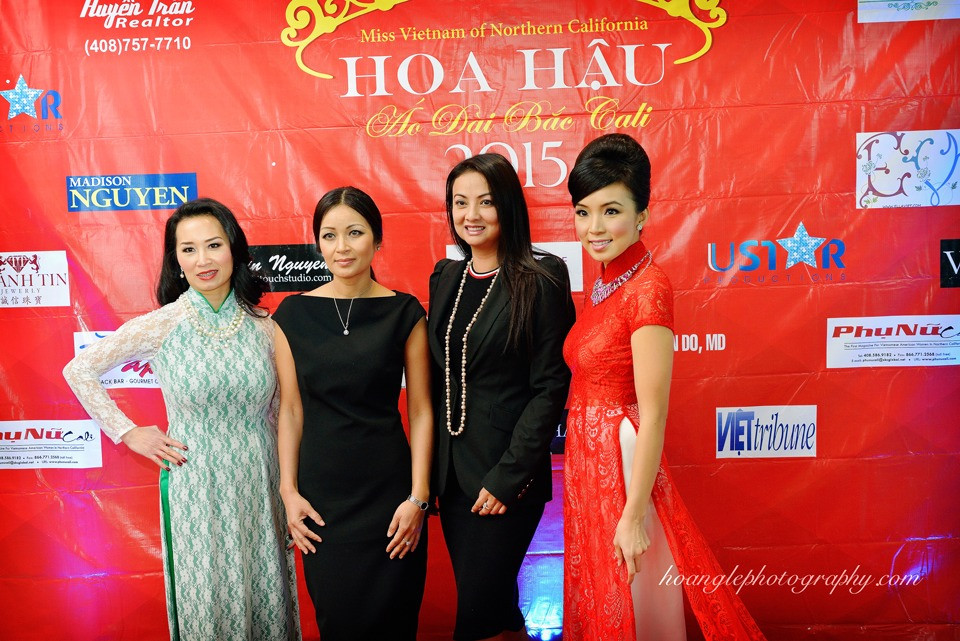 Hoa Hậu Áo Dài Bắc Cali 2015 - Pageant Day pictures by Hoang Le - Image 123