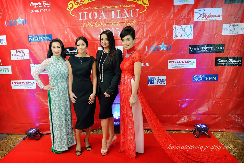 Hoa Hậu Áo Dài Bắc Cali 2015 - Pageant Day pictures by Hoang Le - Image 124