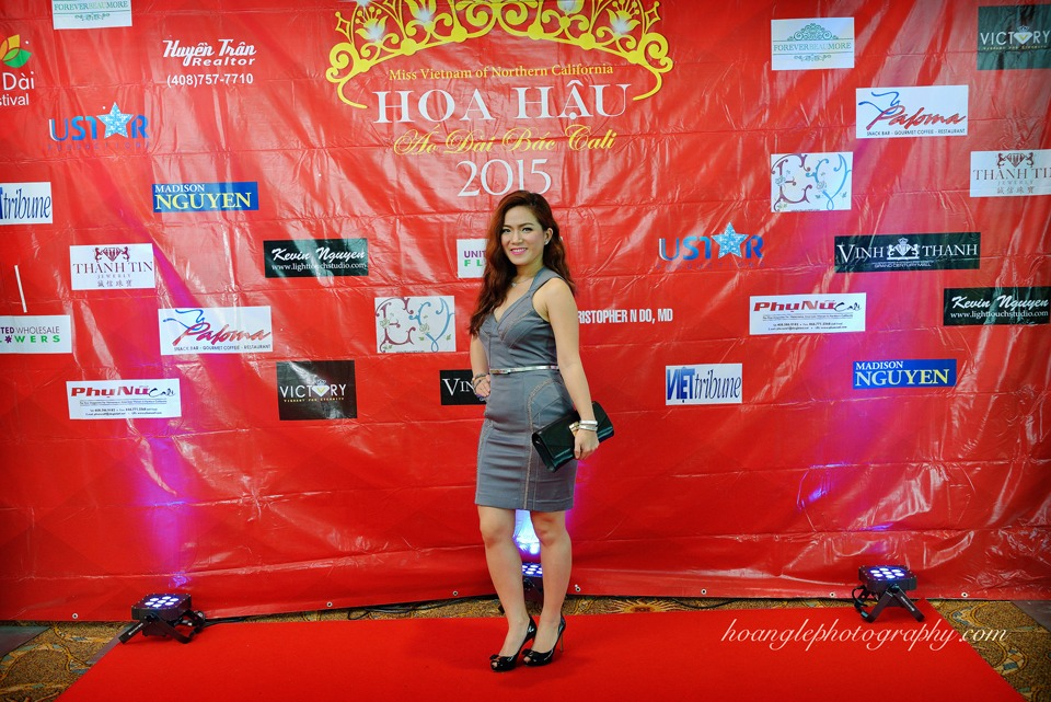 Hoa Hậu Áo Dài Bắc Cali 2015 - Pageant Day pictures by Hoang Le - Image 128