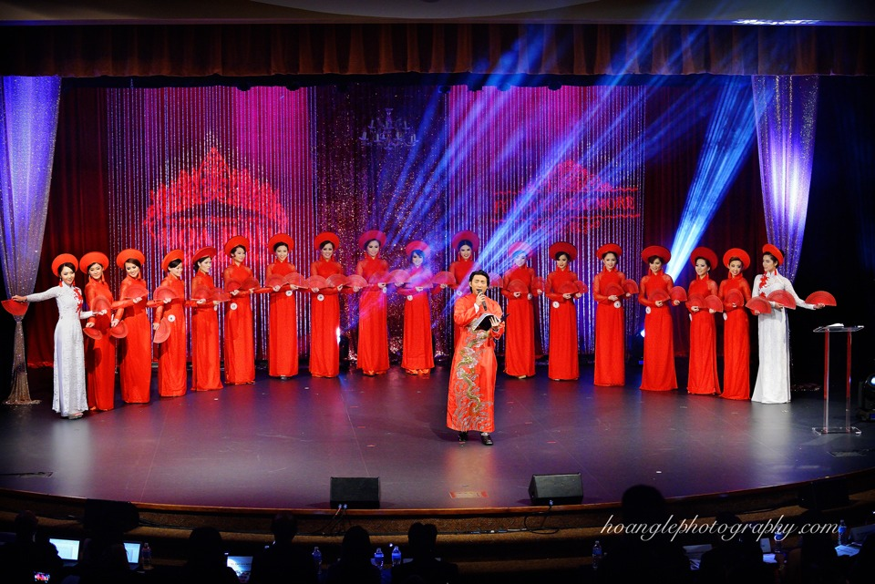 Hoa Hậu Áo Dài Bắc Cali 2015 - Pageant Day pictures by Hoang Le - Image 134